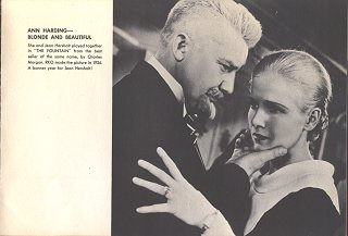 Jean Hersholt With Ann Harding, 1934