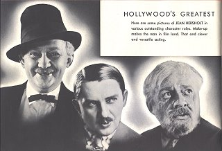 Jean Hersholt Photos Of Various Roles