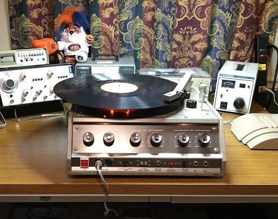 Conyers OTR Transcription Disc Record Player