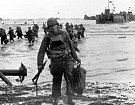 D-Day Omaha Beach Photo